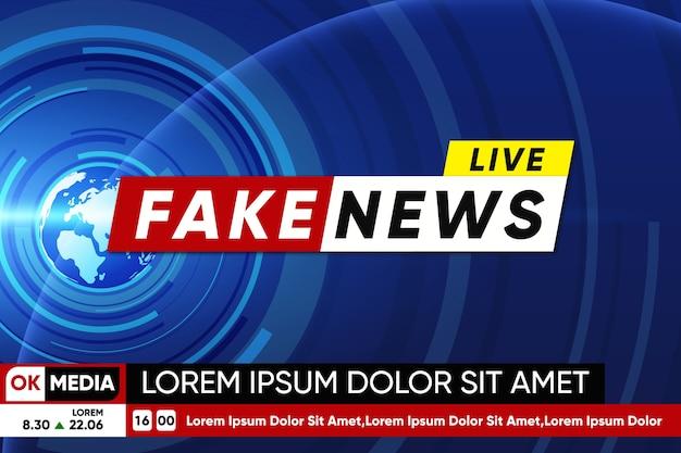 Flujo de noticias falsas