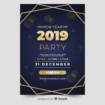 Flyer año nuevo 2019