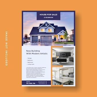 Flyer casas en venta