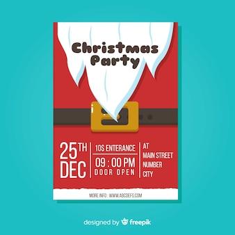 Flyer fiesta de navidad