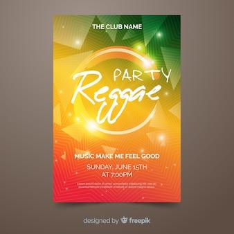 Flyer fiesta reggae