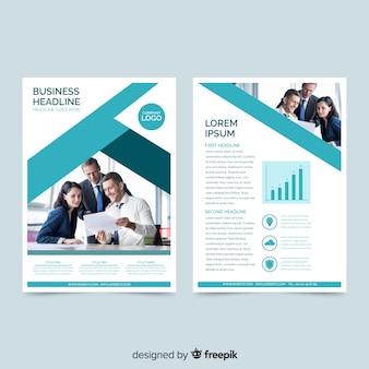 Flyer fotográfico negocios