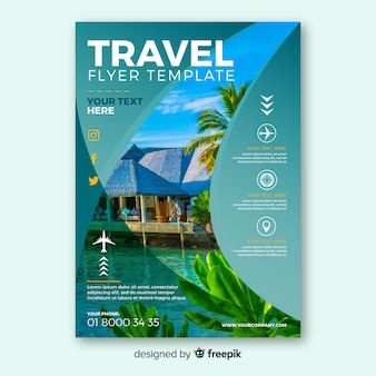 Flyer fotográfico viajes