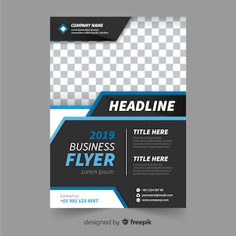 Flyer para negocio