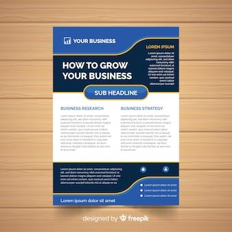 Flyer de negocios