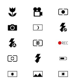 Foco de diseño de la cámara