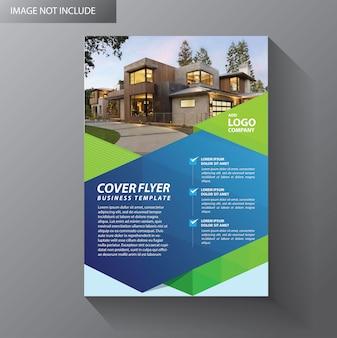 Folleto diseño informe anual cartel volante