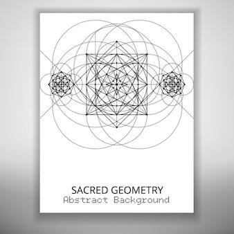 Folleto con formas geométricas
