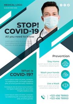 Folleto informativo sobre el coronavirus