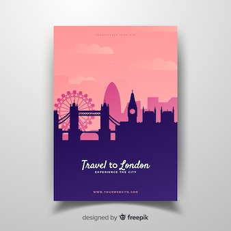 Folleto de londres