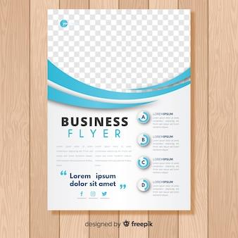 Folleto de negocios