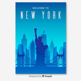 Folleto de nueva york