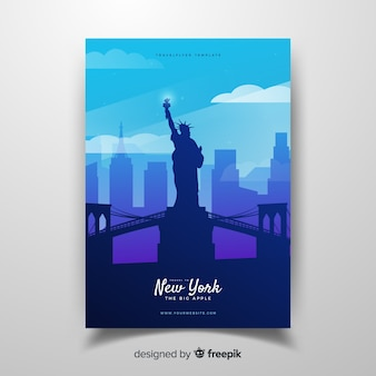 Folleto de nueva york