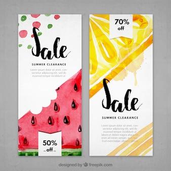 Folleto de ofertas en productos de verano