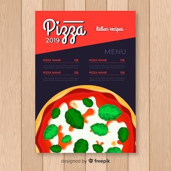Folleto de pizzeria