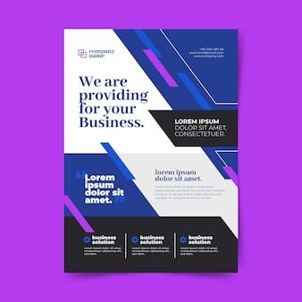 folletos de negocios corporativos abstractos