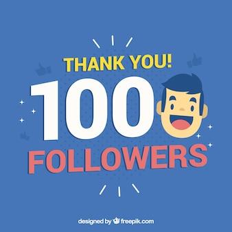 Fondo de 1000 seguidores