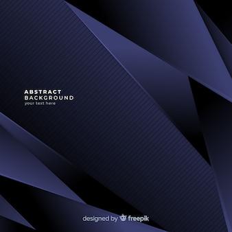 Fondo abstract con formas geométricas azules