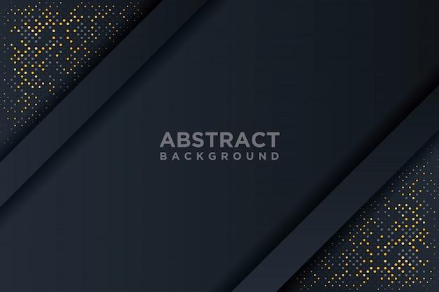 Fondo abstracto en 3d con una combinación de puntos luminosos en estilo 3d.