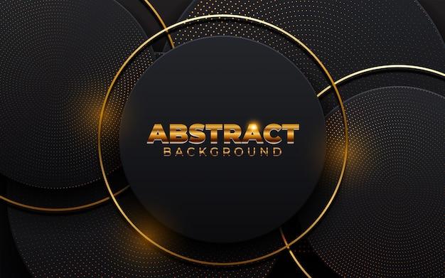 Fondo abstracto 3d con elemento de capas de papel de forma geométrica. diseño moderno papercut.