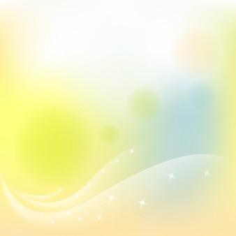Fondo abstracto amarillo borroso