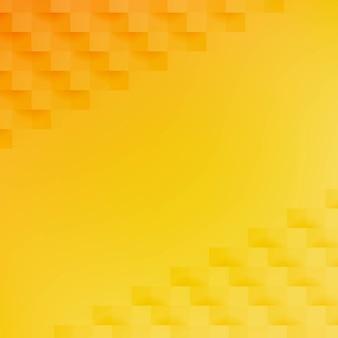 Fondo abstracto amarillo y naranja con malla de degradado