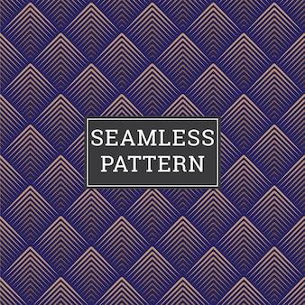 Fondo abstracto art deco de patrones sin fisuras
