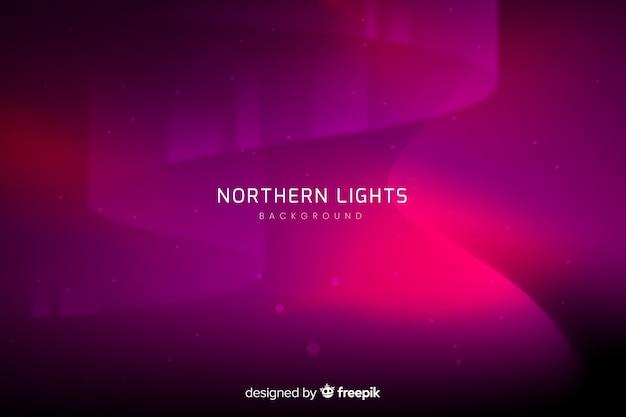 Fondo abstracto con auroras boreales
