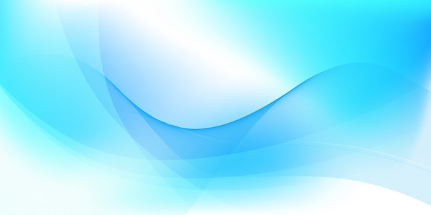 Fondo abstracto azul y blanco