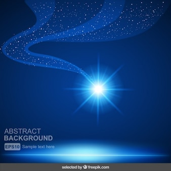 Fondo abstracto azul brillante