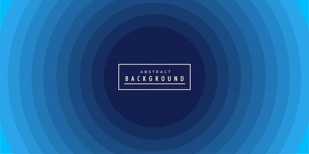 Fondo abstracto azul circular