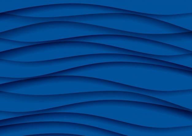 Fondo abstracto azul clásico, color del año