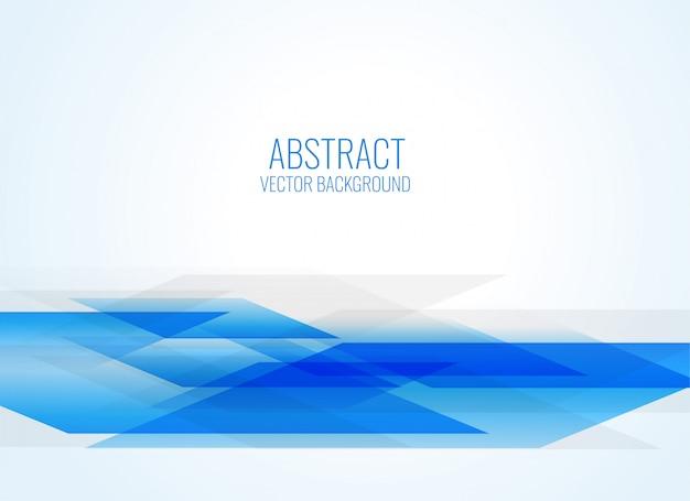 Fondo abstracto azul estilo geométrico