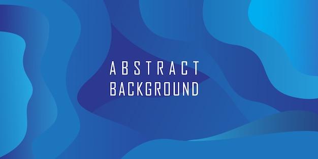 Fondo abstracto azul forma geométrica