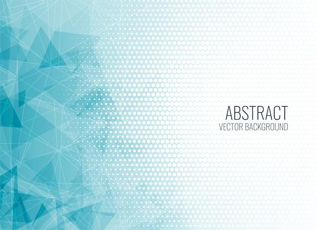 Fondo abstracto azul formas geométricas