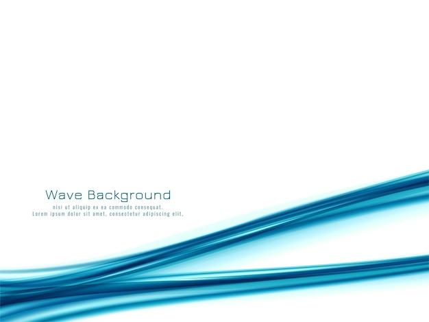 Fondo abstracto azul onda