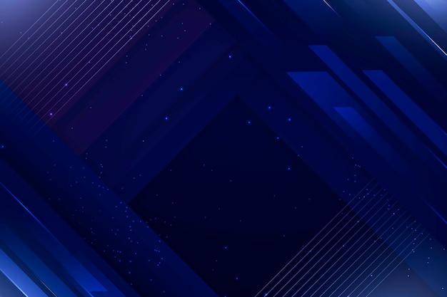 Fondo abstracto azul con profundidad