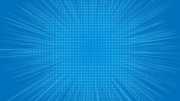 Fondo abstracto azul con puntos