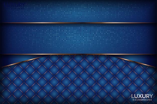 Fondo abstracto azul real