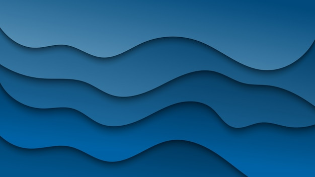 Fondo abstracto azul