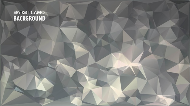 Fondo abstracto de baja poli de formas geométricas de triángulos.