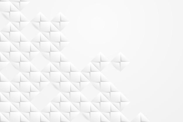 Fondo abstracto blanco en estilo de papel