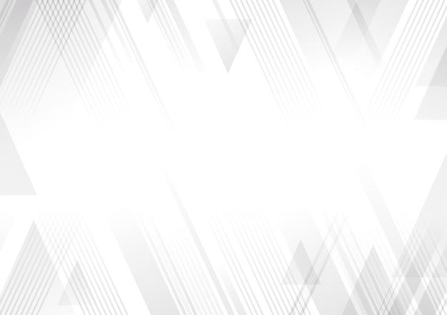 Fondo abstracto blanco y gris