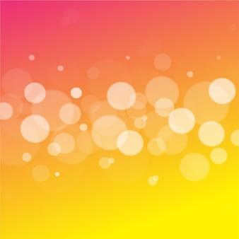 Fondo abstracto bokeh rosa y amarillo