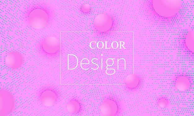 Fondo abstracto . bolas de color rosa.