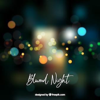 Fondo abstracto borroso de noche
