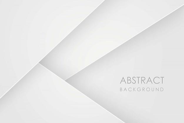 Fondo abstracto con capas de papel blanco. ilustración geométrica de superposición. elemento gráfico. diseño minimalista. decoración para presentación de negocios
