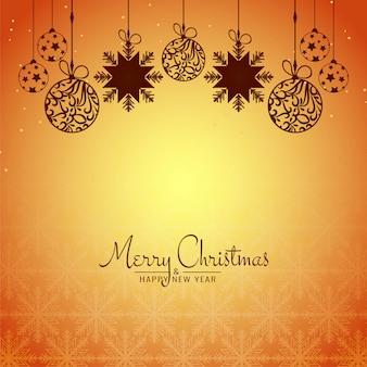 Fondo abstracto de celebración del festival de feliz navidad