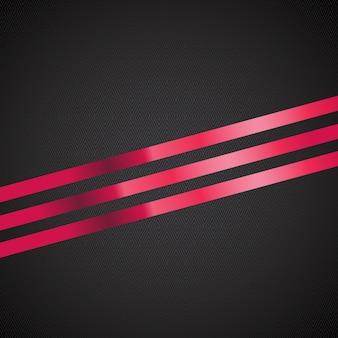 Fondo abstracto con cinta de regalo roja. ilustración vectorial. eps10