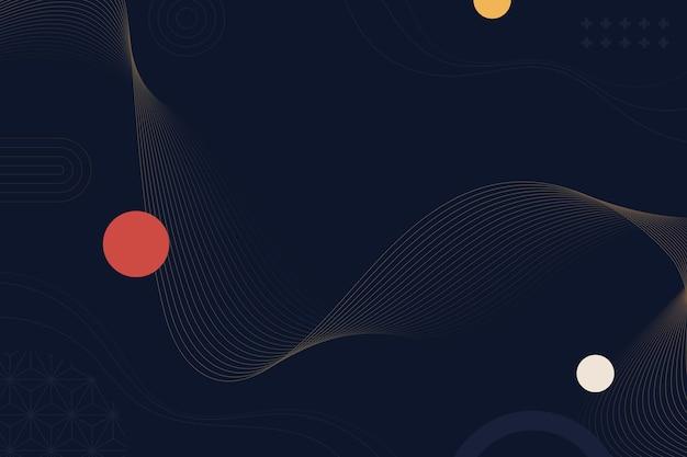 Fondo abstracto con círculo